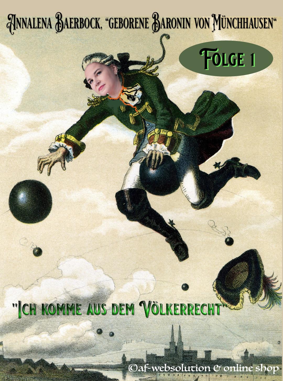 """You are currently viewing Annalena Baerbock, """"geborene Baronin von Münchhausen"""""""